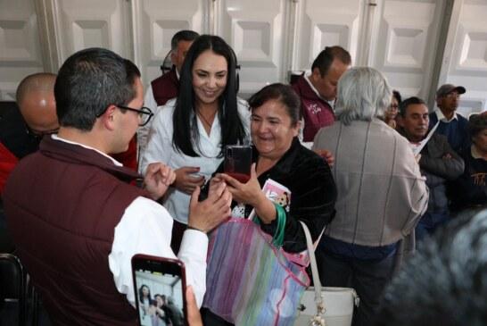Agradece Gaby Gamboa a metepequenses cumplir con sus contribuciones