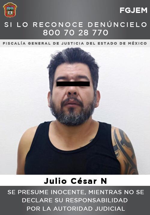 Detienen a un probable extorsionador en Ecatepec