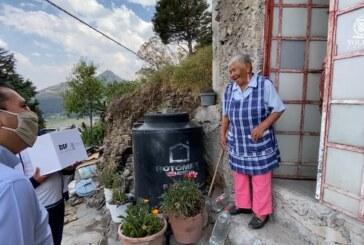 Sigue Juan Rodolfo, entregando alimentos a las familias más necesitadas en comunidades y colonias de Toluca