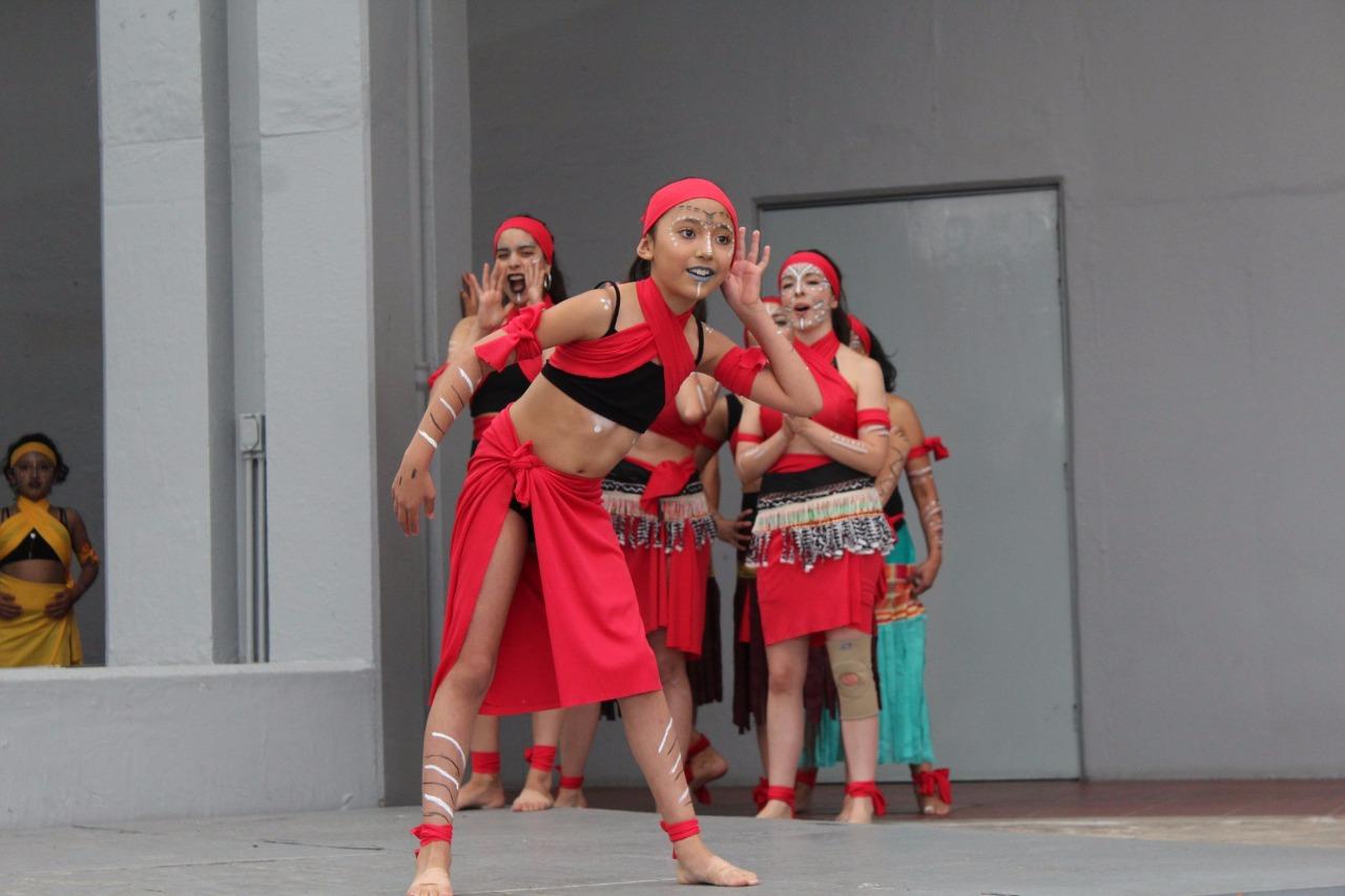 Presentan cultura y bailes africanos en el centro cultural mexiquense
