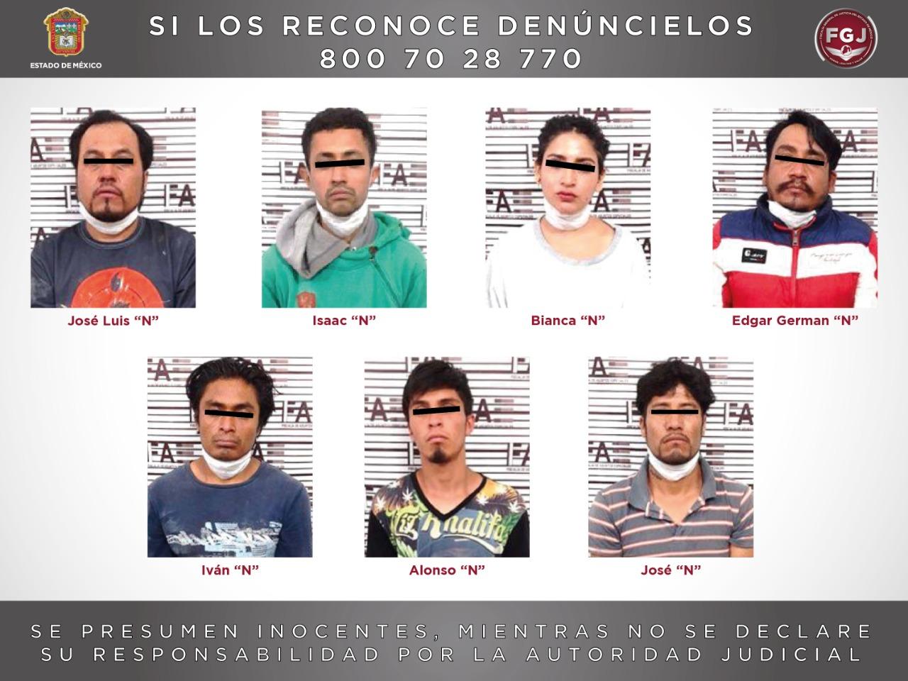Desarticulan una célula de la familia michoacana, investigada en por lo menos nueve eventos de homicidio en el valle de Toluca