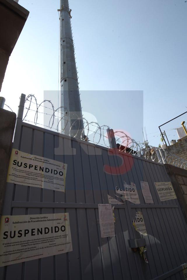 Se manifiestan contra la instalación de una antena repetidora