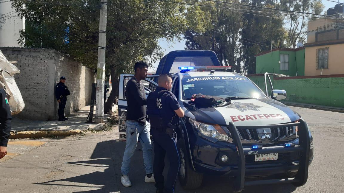 Aseguran a 24 personas durante operativo rastrillo en Ecatepec