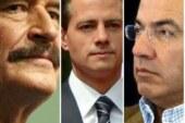 Fox, Calderón y EPN; El triunvirato que no funcionó, privilegiaron las lealtades sobre sus capacidades, el resultado: un desastre