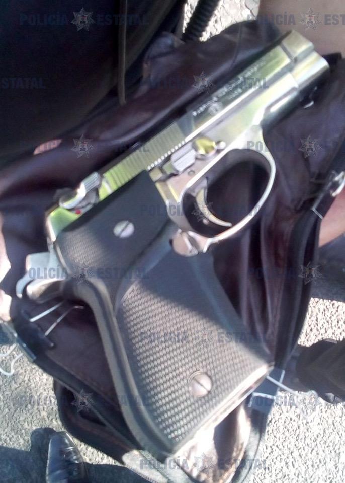 Fue detenido un hombre que portaba de manera ilegal un arma de fuego