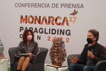Abierto de Parapente Monarca, oportunidad para reactivar el Turismo deportivo