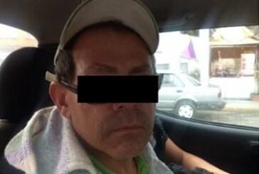 Elementos de la secretaría de seguridad aprehendieron a probable implicado en robos a tiendas de conveniencia
