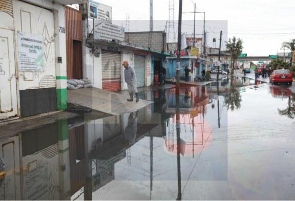 Se inunda una vez más San Mateo Atenco
