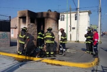 Se incendia caseta en conjunto residencial