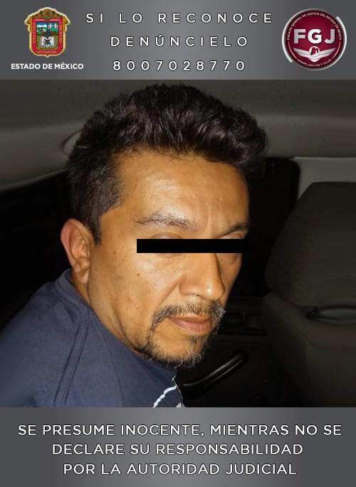 Asegura fiscalía estatal a sujeto que habría participado en los hechos en los que resultó muerto el presidente municipal de Valle de Chalco
