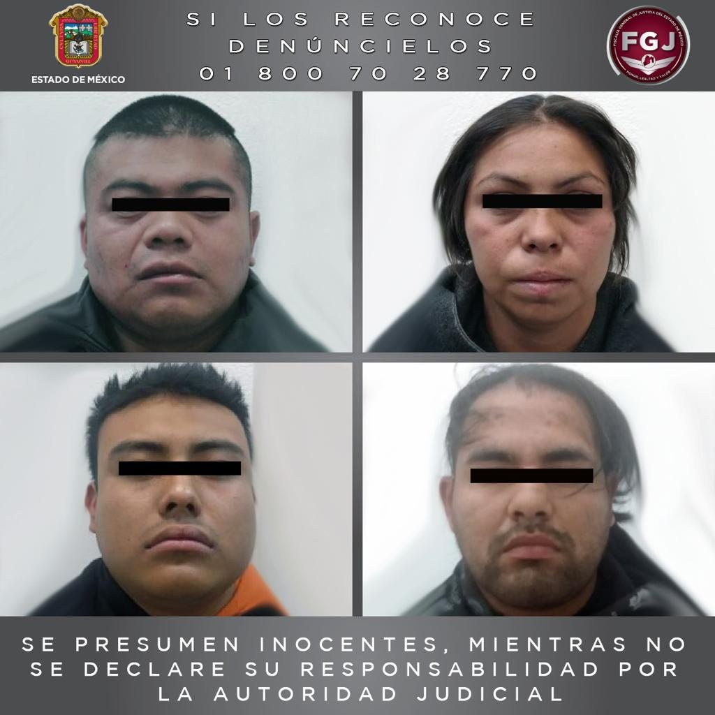 Rescata FGJEM a hombre que se encontraba secuestrado en un inmueble en Chimalhuacán y detiene a cinco personas