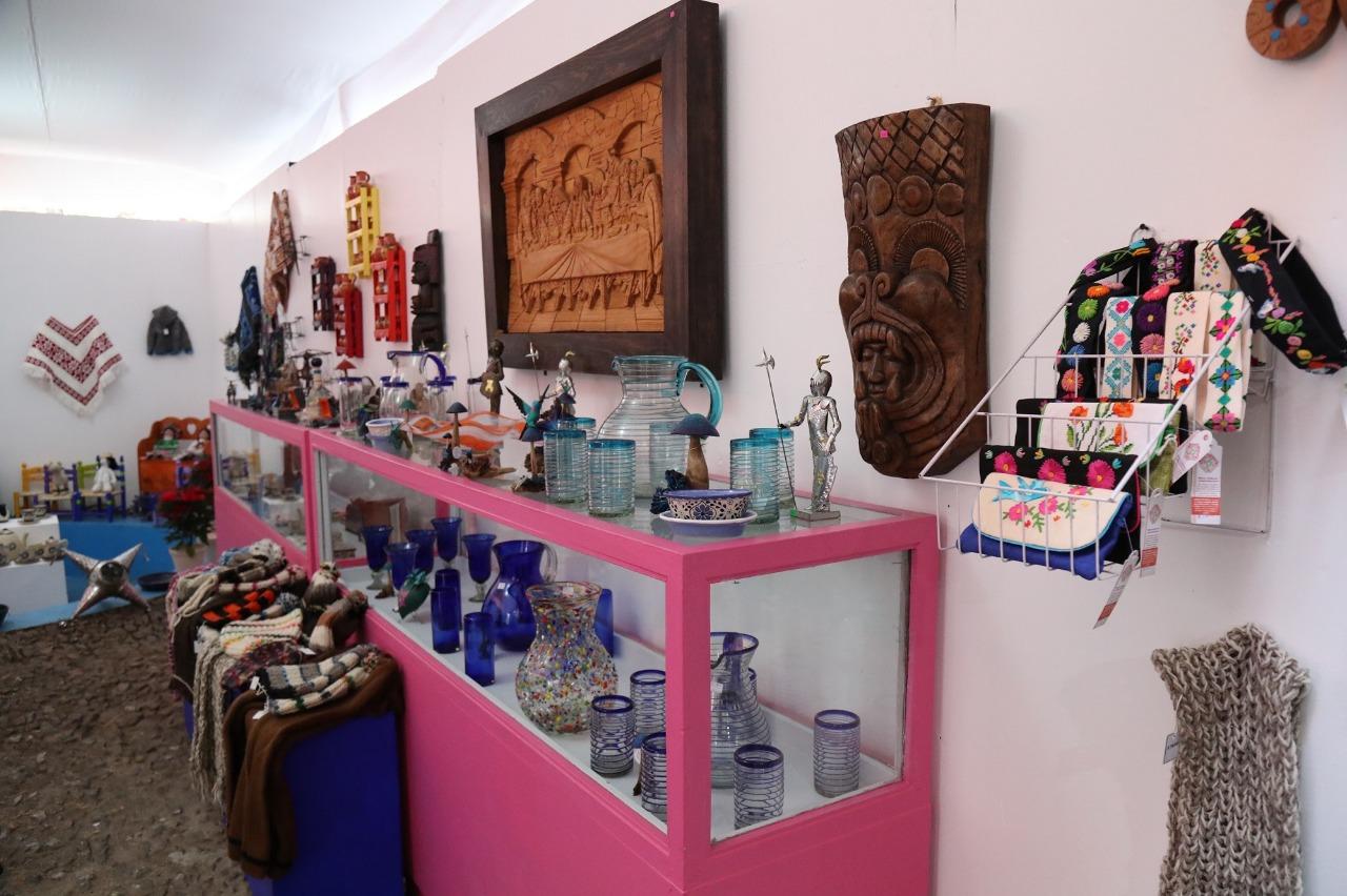 Inicia feria de arte popular en el museo hacienda la pila