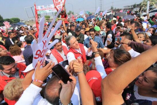 Compromete del Mazo terminar construcción de hospital municipal en Tecámac y abasto de agua a Coacalco