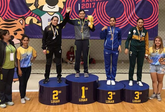 Brenda García obtiene bronce en tae kwon do