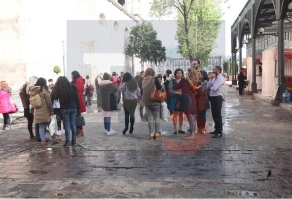 Un corto circuito en un restaurante provoca alarma en el centro de Toluca