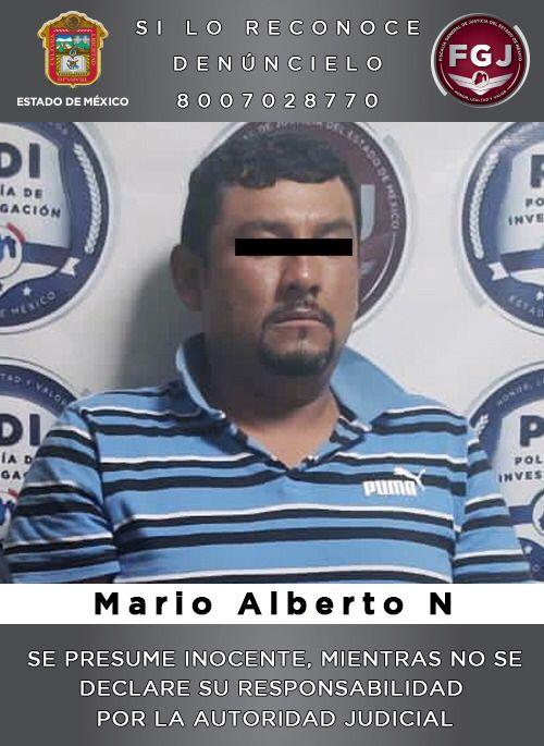 Detiene FGJEM en Puebla a sujeto investigado por el asesinato de una mujer en el municipio mexiquense de Tecámac