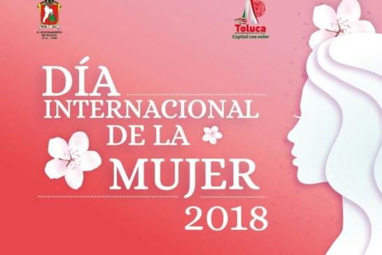 Alista Toluca actividades para conmemorar el Día Internacional de la Mujer
