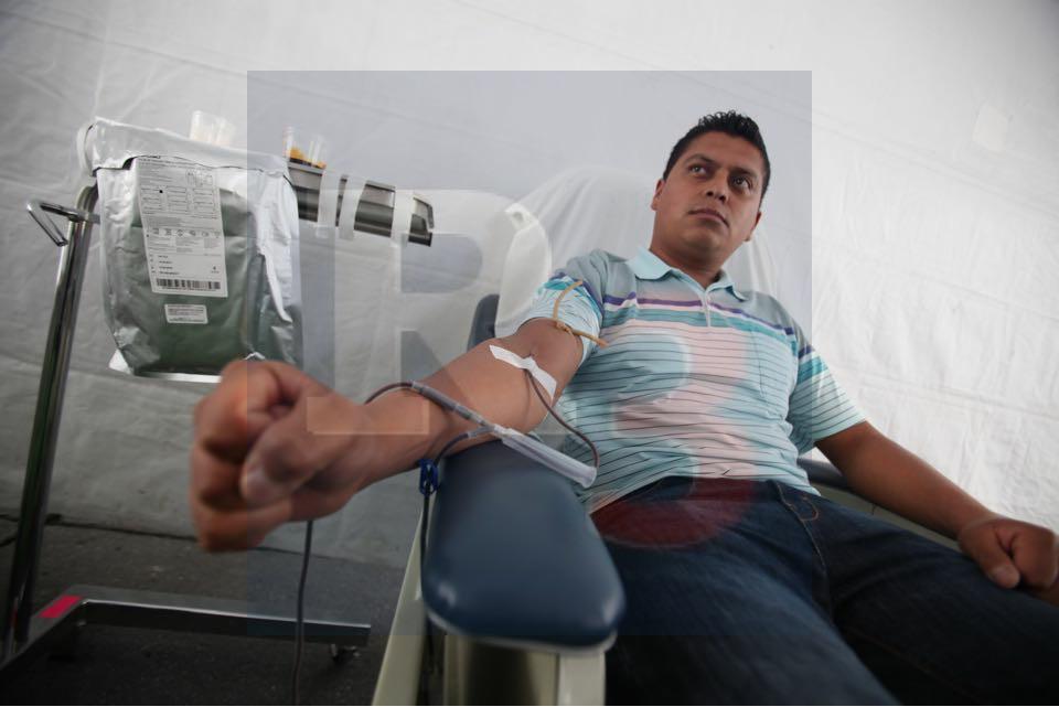 Poco a poco crece la donación de sangre en la entidad.