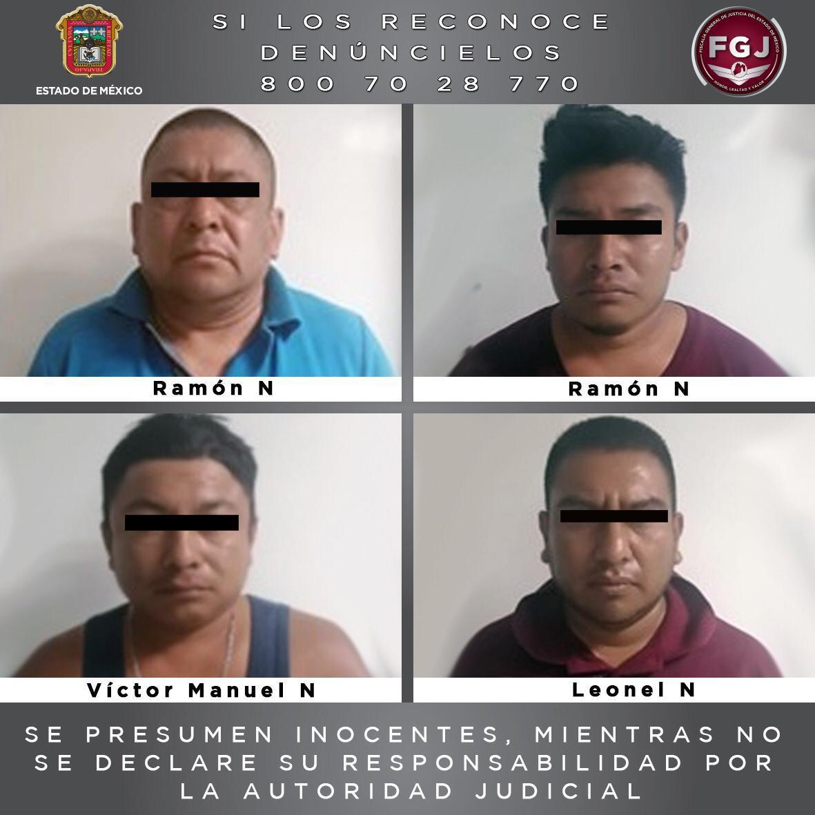Inician proceso legal en contra de cuatro integrantes de una familia investigados por el homicidio de un hombre en Metepec