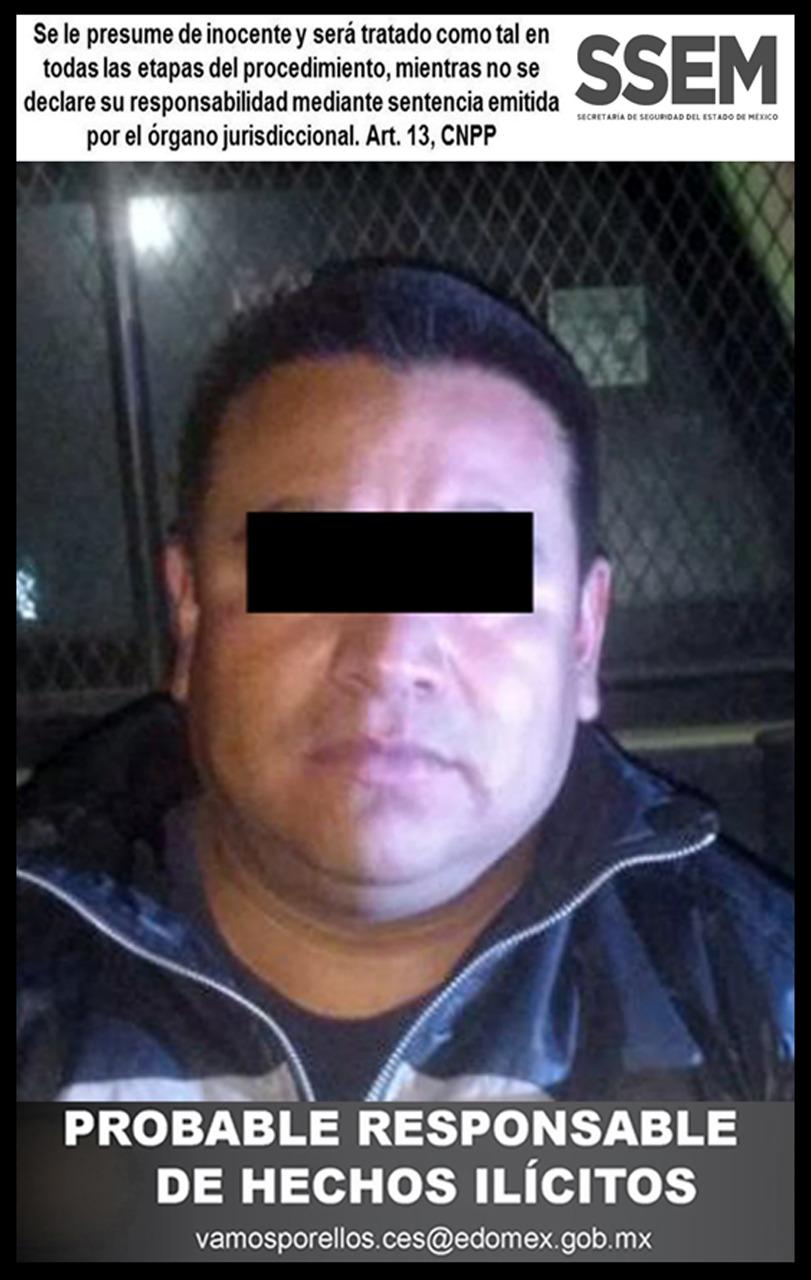 Detiene SSEM a policía municipal que también era huachicolero.