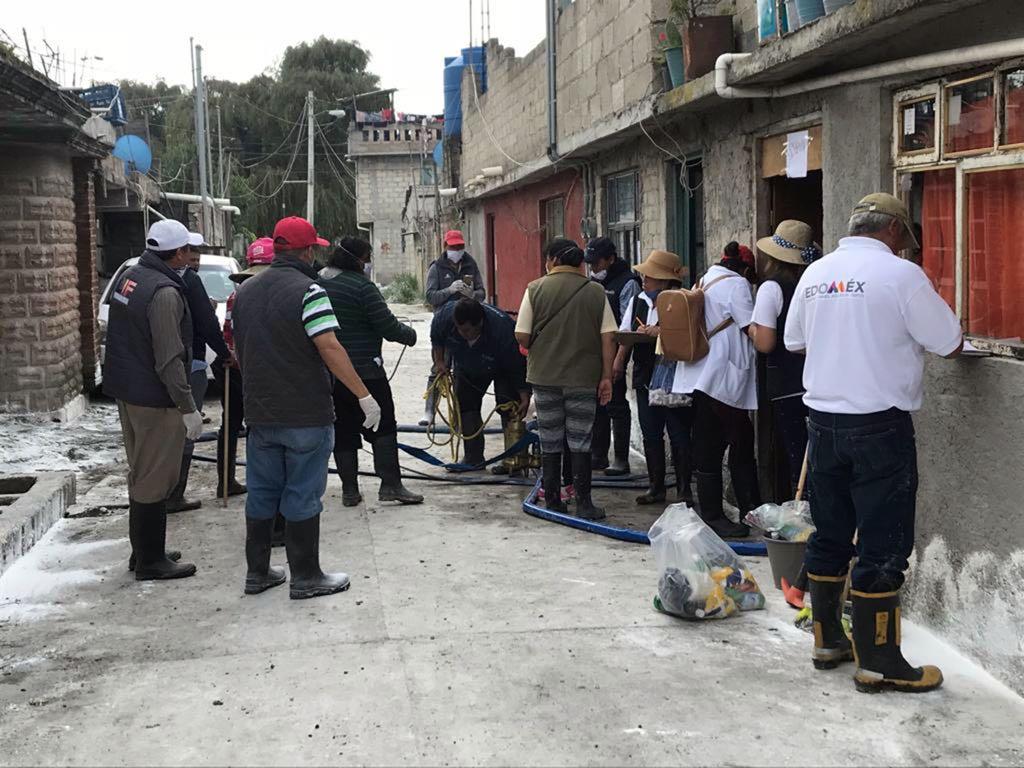Concluye la fase de atención a la emergencia en San Mateo Atenco