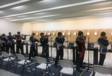 Impone récord Juan Medina en tiro deportivo dentro de la olimpiada nacional 2018