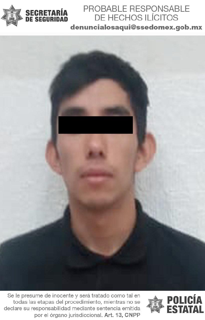 Secretaría de seguridad detiene a probable implicado en el delito de privación de la libertad a menor de edad