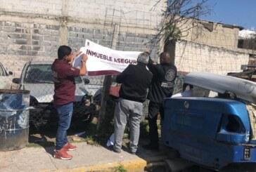 Asegura FGJEM 15 vehículos mediante cateo realizado en Ecatepec