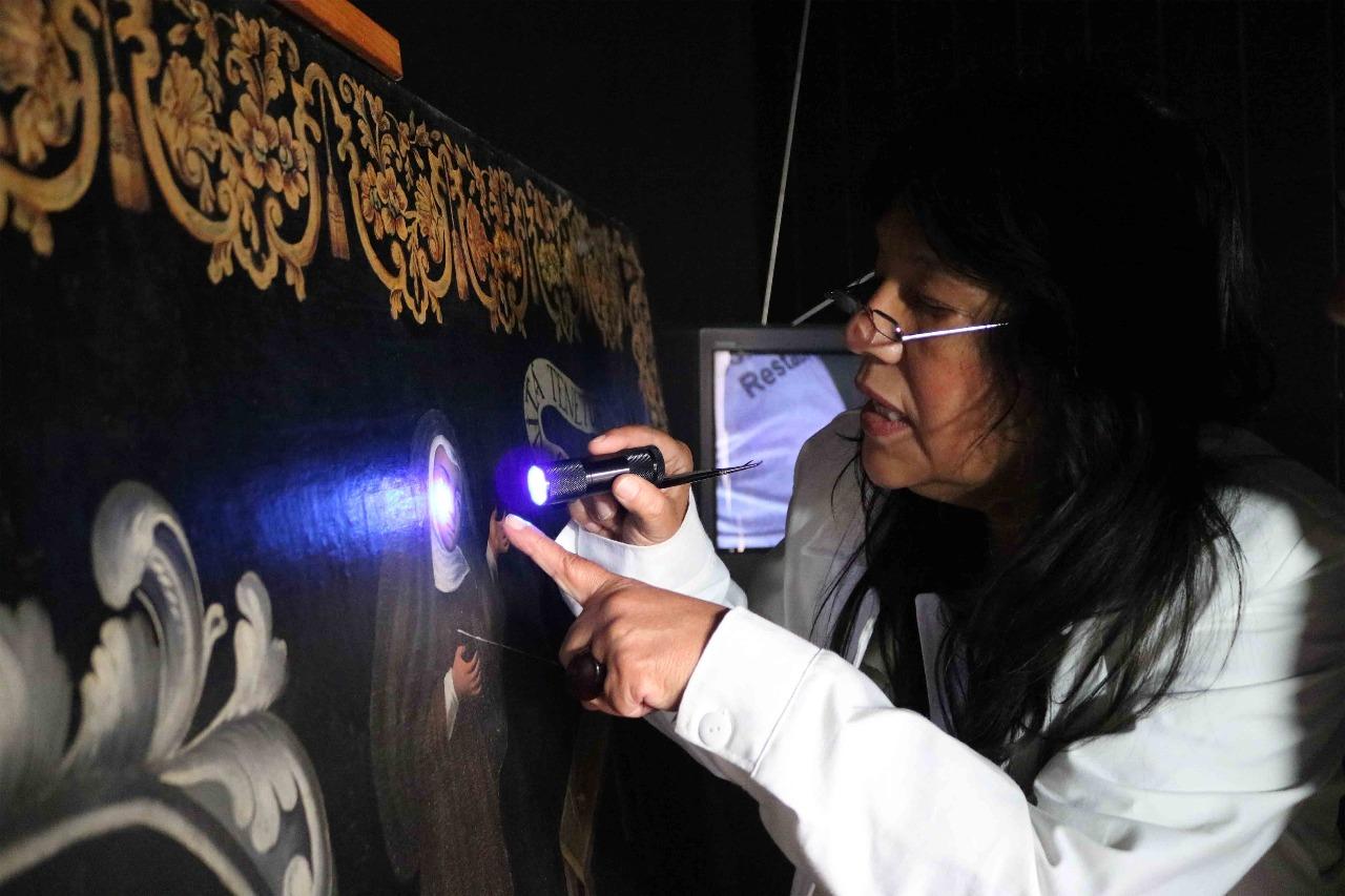 Vigila departamento de restauración de la secretaría de cultura acervo histórico y patrimonial de la entidad
