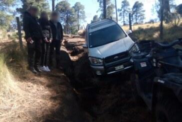Dos turistas extraviados en el Xinantécatl, fueron auxiliados por elementos de la secretaría de seguridad
