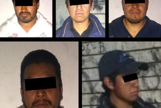 Secretaría de seguridad captura a cinco personas por transportar material pirotécnico de manera ilegal