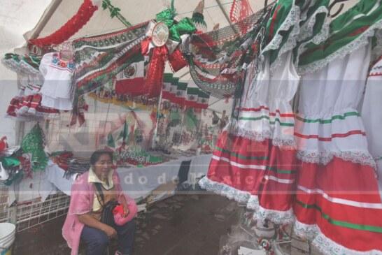Y esta lista la quinta expoferia de la bandera en Toluca.