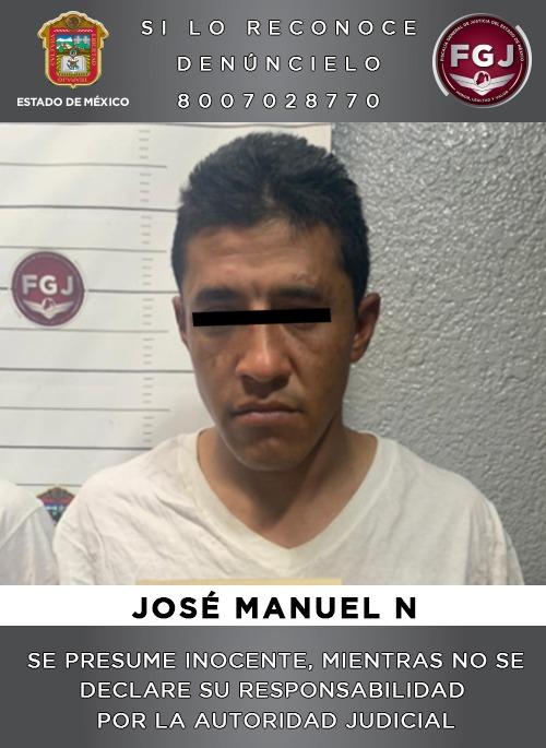 Disfrutó su navidad y hasta su candelaria pero ya lo atraparon por un robo en Cuautitlán Izcalli