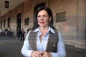 Pide Teresa Castell a sus adversarios que privilegien el intercambio de propuestas, por encima de las descalificaciones