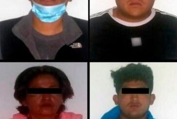 Detienen a cuatro personas posibles responsables de delitos contra la salud