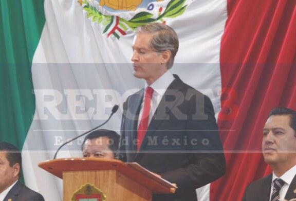 En el Estado de México, es el turno de Alfredo del Mazo.