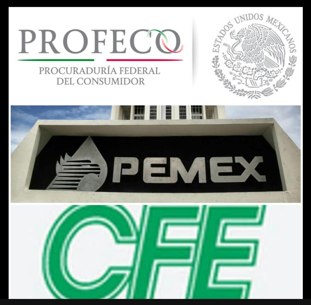 PEMEX, CFE y PROFECO, las instituciones más corruptas.