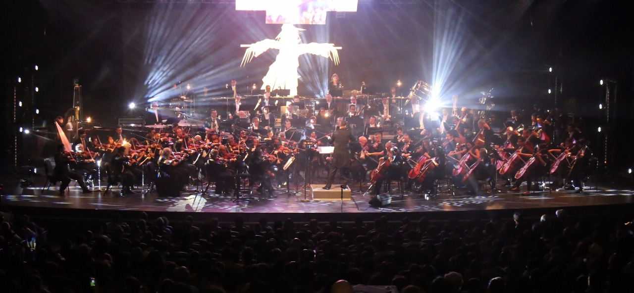 Viven mexiquenses con la OSEM un concierto de película