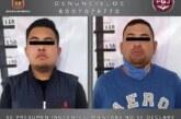 Detienen en Ecatepec a dos individuos investigados por un asalto a los usuarios de una unidad de transporte público