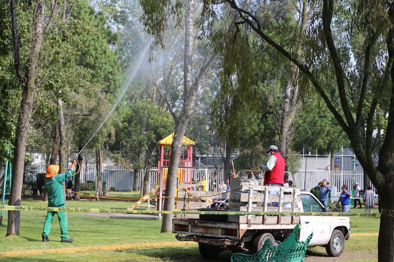 Rehabilitación del parque de La Pilita favorece la salud de usuarios