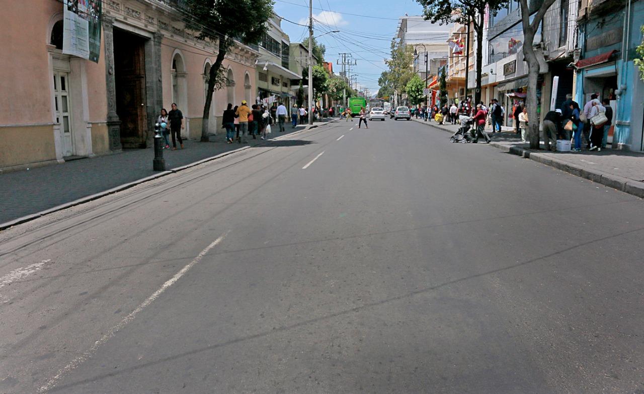 Rehabilitada avenida Benito Juárez, de Lerdo a Gómez Farías