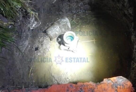 Secretaría de Seguridad resguarda toma clandestina y recupera cinco mil litros de supuesto hidrocarburo