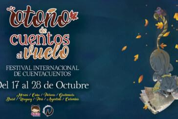 """Festival internacional de Narración oral """"Otoño de cuentos"""" 2018"""