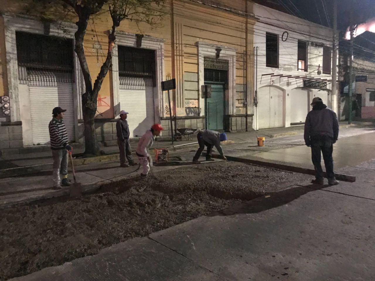 Continúa rehabilitación de principales avenidas de la capital mexiquense