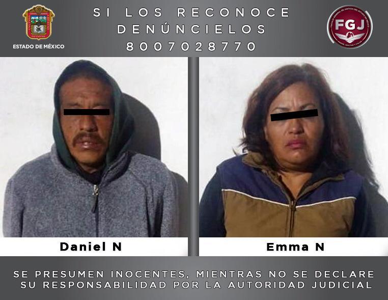 Detiene FGJEM a dos personas investigadas por una extorsión a un transportista en Ixtapaluca
