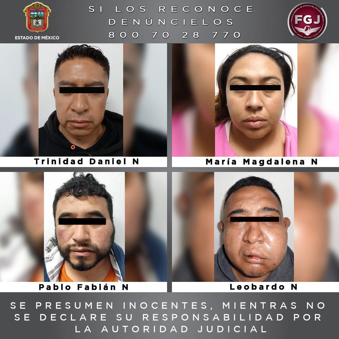 Rescatan a mujer que se encontraba secuestrada y detiene a cuatro personas durante operativo en Ecatepec