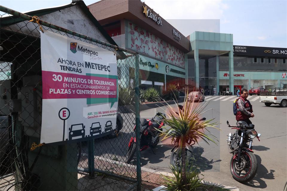 A partir de ahora la primera media hora de estacionamiento serán gratis en Metepec