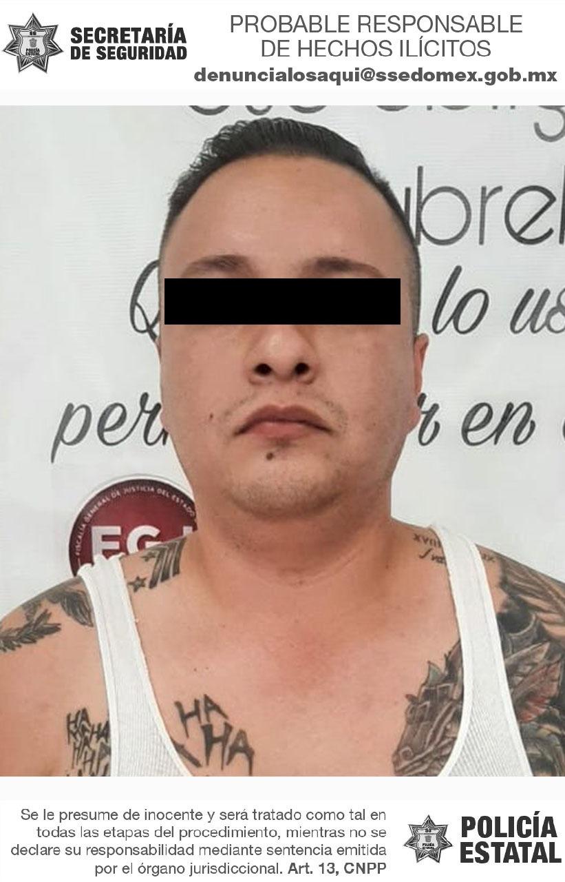 Detienen a posible implicado en delitos de abuso sexual y portación de arma de fuego