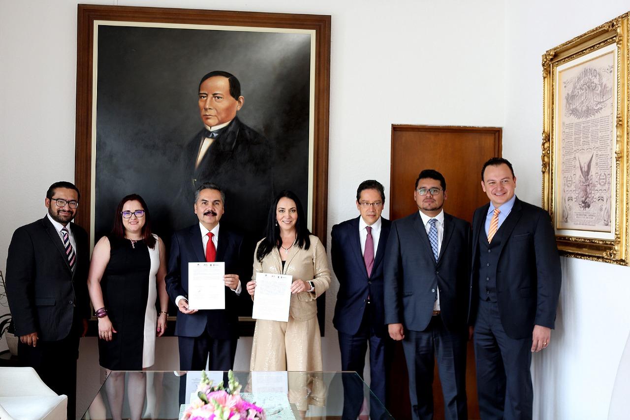 Distingue la contraloría estatal a Metepec por liderazgo en transparencia y combate a la corrupción