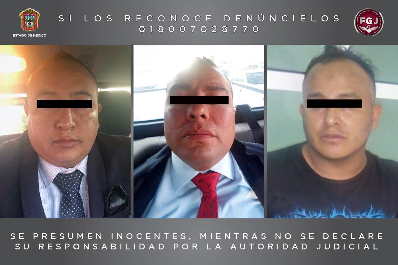 Detienen a tres policías municipales de Tlalnepantla investigados por secuestro exprés